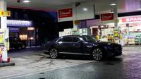Mobil mewah Bentley milik Cristiano Ronaldo. (The Sun)