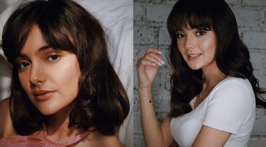 6 Potret Amanda Rawles dengan Gaya Rambut Berponi, Makin Terlihat Imut