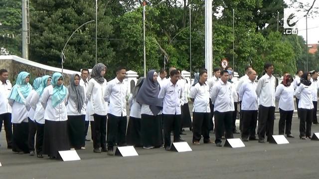 Bupati Subang, Imas Aryumningsih ditangkap KPK dalam OTT Selasa (13/2) malam.