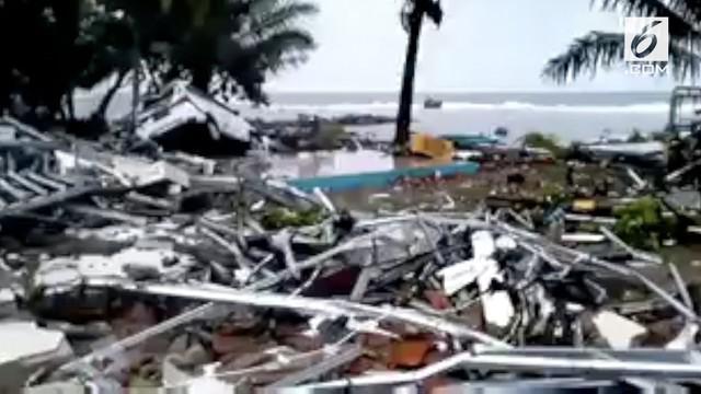 Tsunami menerjang kawasan pantai Banten dan Lampung, apa pemicunya?