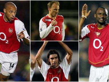 Berikut ini adalah para pemain bintang sekaligus andalan Arsenal era Arsene Wenger.