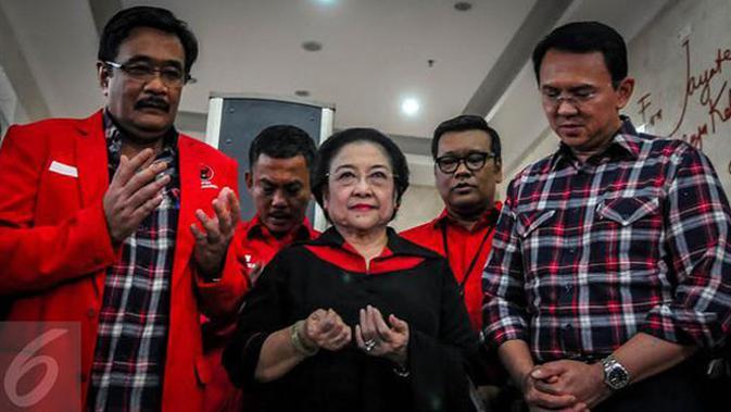 Pengurus wilayah dan sejumlah kepala daerah dari PDIP diminta untuk segera ke DKI Jakarta guna memenangkan pasangan Ahok-Djarot.