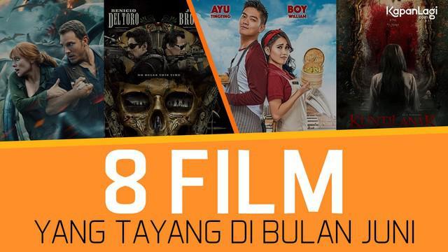 KAPANLAGI.COM - Hai KLovers, Bulan Juni ini bakal ada 8 film pilihan KapanLagi.com yang tayang di bioskop. Genrenya beragam, dari horor, keluarga hingga adventure. Penasaran? Simak terus video terupdate dari dunia artis, selebritis dan entertainmen...