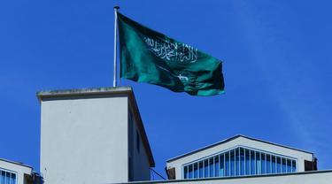 Ilustrasi Bendera Arab Saudi (iStockphoto via Google Images)