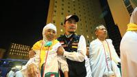 Setidaknya jemaah akan tinggal di Makkah selama 30 hari untuk melaksanakan rangkaian ibadah haji. Foto: Bahauddin/MCH
