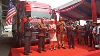 PT Multi Bintang Indonesia Tbk melakukan ekspor perdana ke Amerika Serikat (AS), Senin (13/8/2018). Wilfridus Setu Embu/Merdeka.com)