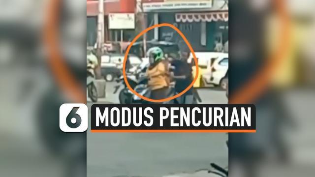 MODUS PENCURIAN