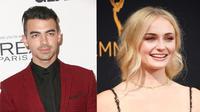 Kabar kedekatan Joe Jonas dan Sophie Turner memang sedang ramai beredar. Terbaru, keduanya disiarkan merayakan Thanksgiving bersama. (AFP/Bintang.com)