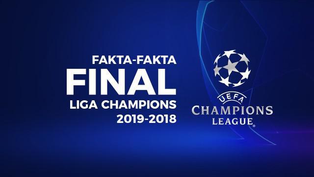 Berita video fakta menarik di final Liga Champions 2018-2019, Tottenham Hotspur Vs Liverpool, Minggu (2/6/2019) di Stadion Wanda Metropolitano, Madrid.