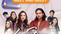 Love Story The Series gelar 3xtraordinary Meet & Greet virtual, Sabtu (27/1//2021) pukul 16.30 WIB ditayangkan live Vidio