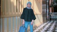 Berikut inspirasi gaya busana ala hijaber asal Korea Ayana Jihye Moon. (Foto: instagram/  xolovelyayana)
