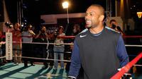 Roy Jones Jr calon lawan Mike Tyson di laga amal, 28 November mendatang (Ethan Miller/AFP)