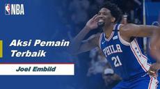 Berita Video Joel Embiid Cetak 49 Poin Saat Philadelphia 76ers Menang Atas Atlanta Hawks 129-112