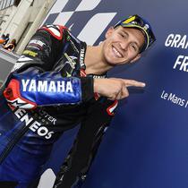 Pembalap Monster Energy Yamaha MotoGP, Fabio Quartararo di MotoGP Prancis. (Monster Energy Yamaha MotoGP)