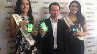 Kecantikan Miss Indonesia 2015, Maria Harfanti menjadi inspirasi dari peluncuran Advan S5J+ ini.