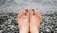 Ilustrasi jari kaki. (dok. pexels.com/Asnida Riani)