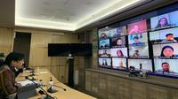 Forum kerja sama APEC yang digelar secara virtual guna mengembangkan potensi industri kreatif dan ekonomi digital. (Source: Kemlu RI)