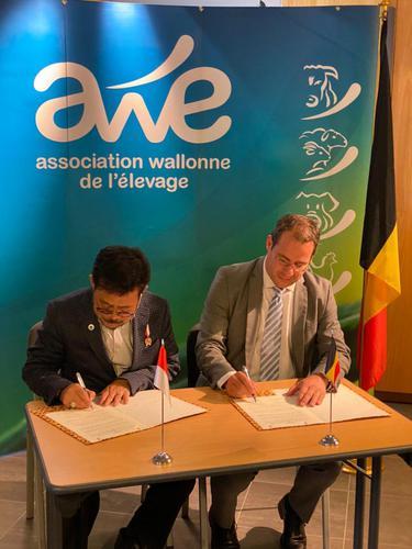 Pemerintah Indonesia dan Belgia Tandatangani Kerja Sama Peternakan