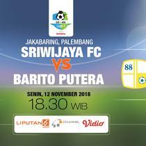 Sriwijaya FC vs PS Barito Putera