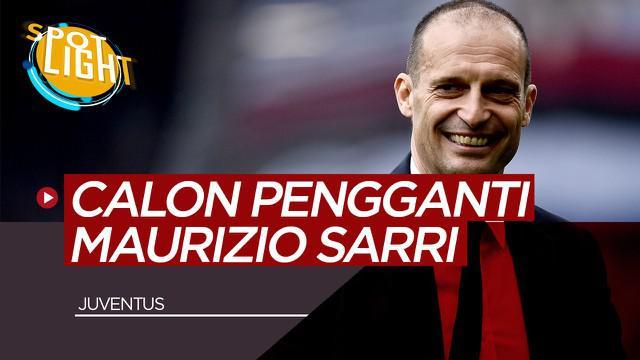 Berita Video Massimiliano Allegri dan 3 Pelatih yang Bisa Gantikan Maurizio Sarri di Juventus