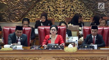 Tok, Puan Maharani Resmi Jadi Ketua DPR 2019-2024
