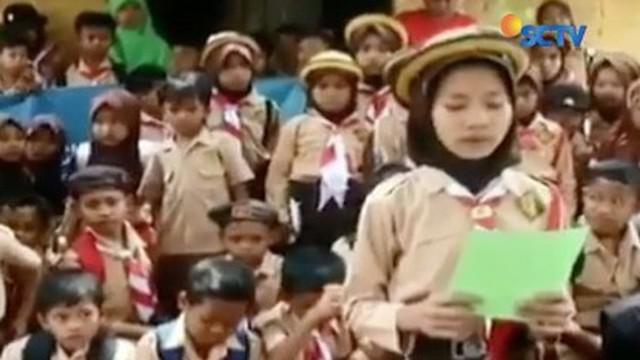 Curhat soal kondisi sekolah yang tidak layak, siswi SD di Serang, Banten, kini syok dan takut bertemu orang lain. Kenapa?