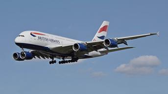 Penerbangan Pertama British Airways Berbahan Bakar Minyak Goreng Daur Ulang