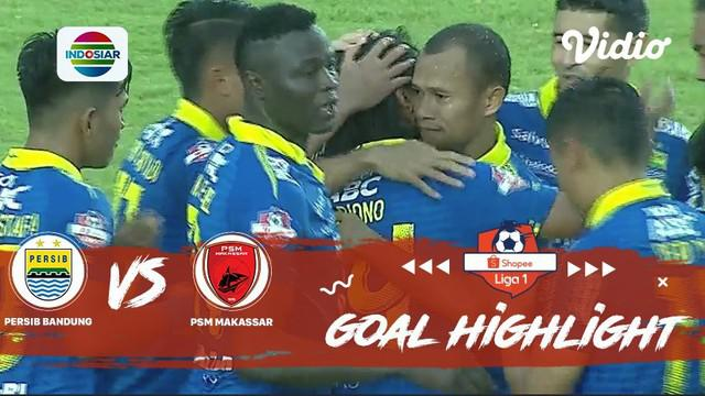 Berita video gol-gol yang dicetak Persib Bandung ke gawang PSM Makassar pada pekan terakhir Shopee Liha 1 2019, Minggu (22/12/2019).