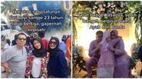 Kisah Orang Tua Melepas Anak Tunggal Perempuannya Menikah. (Sumber: TikTok/ @bibiwbiw)