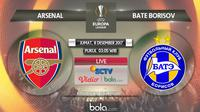 Liga Europa_Arsenal Vs BATE Borisov (Bola.com/Adreanus Titus)