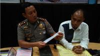 AKBP Komarudin, Kapolresta Serang, menjelaskan kasus Kerajaan Ubur-Ubur. (Liputan6.com/Yandhi Deslatama)