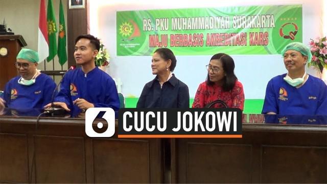 Istri Gibran Rakabuming Raka, Selvi Ananda melahirkan bayi perempuan di Rumah Sakit PKU Muhammadiyah, Solo, pada pukul 15.46 WIB, Jumat, 15 November 2019.