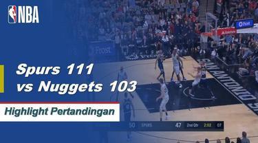 DeRozan turun 30 poin dan Aldridge menambahkan 27 untuk kemenangan 111-103