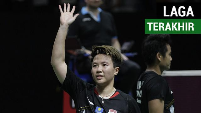 Berita video Liliyana Natsir melakoni laga terakhirnya sebagai pebulu tangkis profesional pada final ganda campuran Indonesia Masters 2019 di Istora Senayan, Jakarta, Minggu (27/1/2019).
