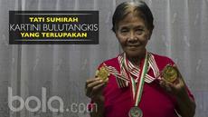 Berita video kenangan wawancara Bola.com dengan legenda bulu tangkis Indonesia, Tati Sumirah, yang baru saja tutup usia, pada 2017.