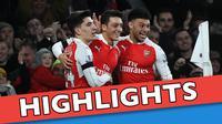 Video highlights Premier League Inggris antara Arsenal melawan Bournemouth yang berakhir dengan skor 2-0, Selasa (29/12/2015).
