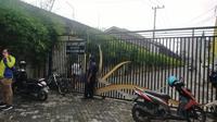 Rumah mantan Bupati Gresik Sambari Halim Radianto (Dian Kurniawan/Liputan6.com)