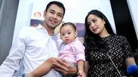 """""""Aku sudah bilang sama Gigi juga, entar kalau aku punya istri 4 boleh nggak?"""" ujar Raffi Ahmad dalam acara tersebut. (Adrian Putra/Bintang.com)"""