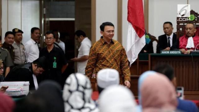 Majelis hakim Pengadilan Negeri Jakarta Utara menjatuhkan vonis terhadap Basuki Tjahaja Purnama  atas kasus dugaan penodaan agama. Dalam putusannya, Ahok dijatuhi hukuman dua tahun penjara.