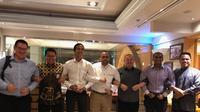 Para konsul haji ASEAN menggelar pertemuan di Jeddah, Senin (27/8/2019). Dok Kemenag