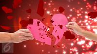 Move on dari sebuah hubungan yang telah terjalin sekian lama dapat menjadi sebuah proses yang rumit. Ketahui 5 fasenya. (iStockphoto)