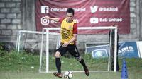 Gelandang Bali United, Sutanto Tan, hanya ingin bekerja keras agar bisa mendapatkan kesempatan bersama Serdadu Tridatu. (Dok. Bali United)