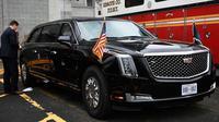 Mobil dinas terbaru Presiden Amerika Serikat Donald Trump. (Car and Drive)