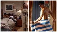 Pengalaman paling memalukan yang dialami oleh para pelancong adalah ketika tidak sengaja terlihat sedang mandi oleh pegawai hotel.