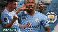 Ilustrasi Manchester City (Bola.com/Adreanus Titus)
