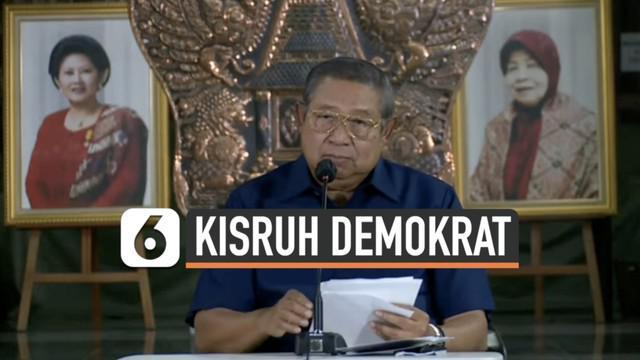 Ketua Majelis Tinggi Partai Demokrat Susilo Bambang Yudhoyono angkat bicara terkait kongres luar biasa Partai Demokrat di Deli Serdang. SBY sampaikan responnya setelah ketua umum AHY gelar koferensi pers hari Jumat (5/3) sore.