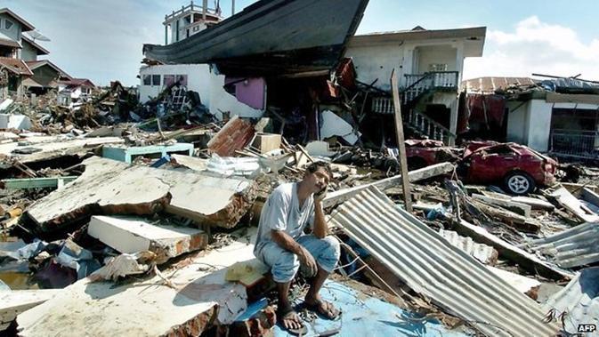 Tsunami Aceh 2004 (AFP)