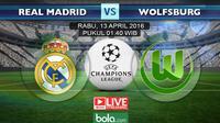 Real Madrid vs Wolfsburg (bola.com/Rudi Riana)