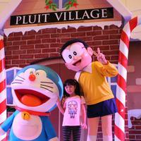 Natal bersama Doraemon. (Foto: Dok. Lippo Malls)