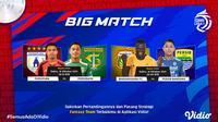 Jadwal big match BRI Liga 1 seri 2 Sabtu, (16/10/2021)
